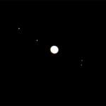 Jowisz z księżycami 23.09.2010r